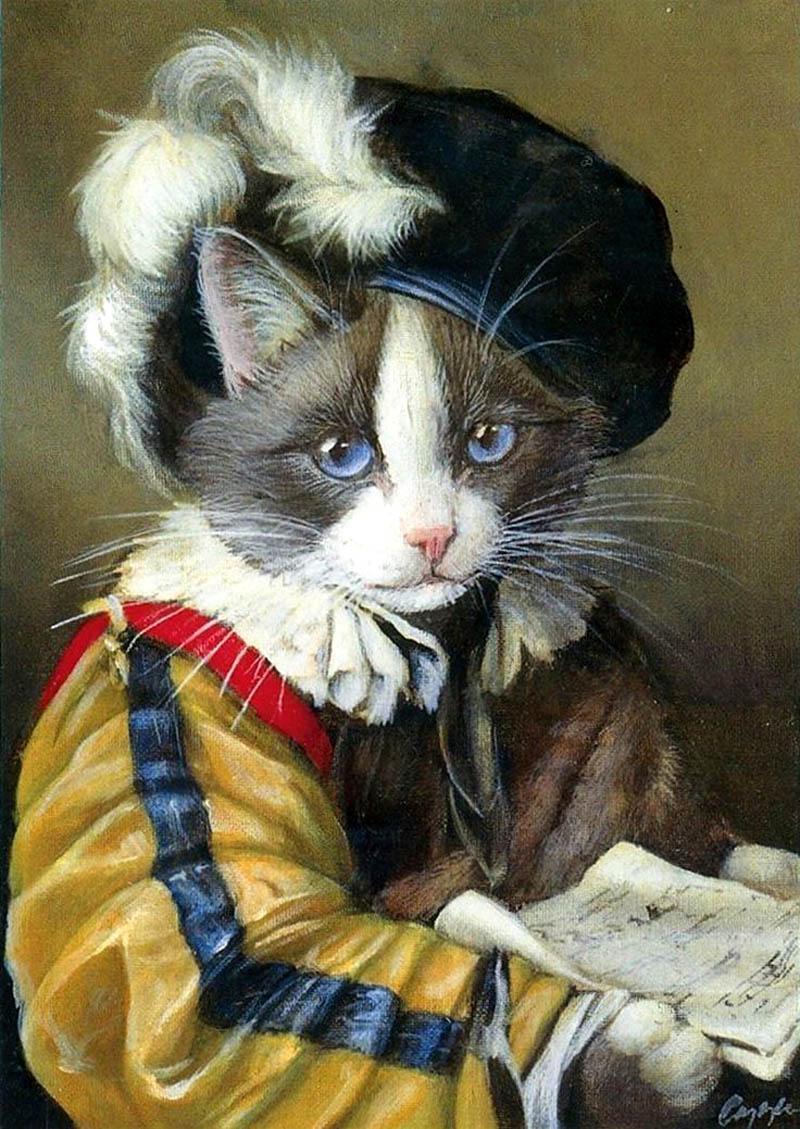 Викторианские кошки Миелинды Купер