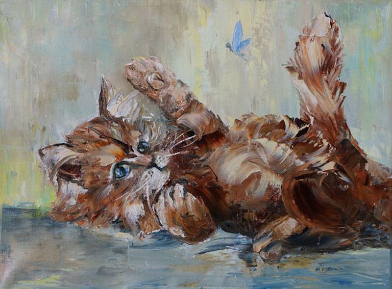Кошки Оксаны Кравченко